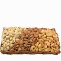 Oblong Nut Wicker Gift Basket