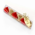 Caramel Filled Milk Chocolate Hearts Gift Sticks