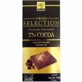Swiss Selection 72% Cocoa Dark Chocolate Bar