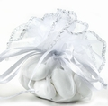 White Organza Bags - 12CT Bag