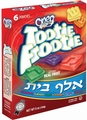 Tootie Frootie Alef-Beis Jelly Packs - 6PK