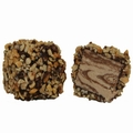 Dark Chocolate Halvah Squares w/Nuts