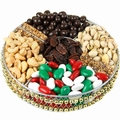 10-Inch Holiday Beaded Gift Tray