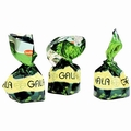 Gala Green Foiled Pistachio Milk Chocolate Truffles