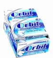Orbit Professional Mint Gum Pellets - 12CT Box