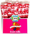 Strawberry Fruit Leather Rolls - 5-Pack