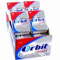 Orbit White Classic Mint Gum Pellets - 16CT Box