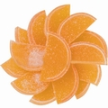 Orange Jelly Fruit Slices - 5 LB Box