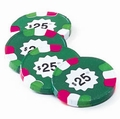 Milk Chocolate $25 Poker Chips