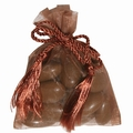 Brown Mesh Favor Bags - 12CT Bag