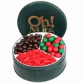 Holiday Candy Keepsake Gift Tin