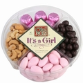 Baby Girl 4-Section Gift Tray