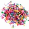 Colorful Rainbow Rock Candy Crystals
