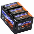 Mentos Kiss Sugar Free Mint Candy Dispensers - Orange - 12CT Box