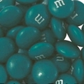 Teal M&M's Chocolate Candy