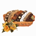 Large Israeli Chocolate, Dried Fruit & Nut Basket