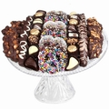 Israeli Chocolate Crystal Cake Tray