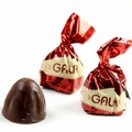 Gala Red Foiled Hazelnut Milk Chocolate Truffles