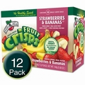 Freeze-Dried Strawberry Banana Fruit Crisps - 12CT Box