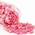 Pink Candy Coated Popcorn - Watermelon