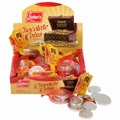 Dark Chocolate Coins Chanukah Mesh Bags - 24CT Box