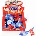 Elite Bittersweet Chocolate Coins Bags - 24CT Box