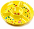 Jelly Belly Yellow Melamine Chip & Dip Tray