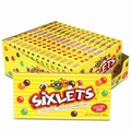 Sixlets 3.5 oz Theater Box - 15CT Case
