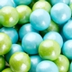 Powder Blue Lime Green Shimmer Gumballs.jpg