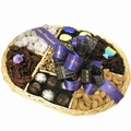 Hanukkah Chocolate & Nut Wicker