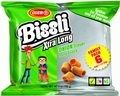 Passover Onion Flavored Xtra Long Bissli Snack - 6-Pack (Gebrokts)
