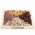 Oh! Nuts Wooden Nut Gift Tray