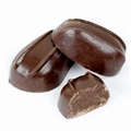 Dark Oblong Praline Chocolate Truffles - 5 LB Box