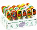 Halloween Milk Chocolate Pops - 60CT Box