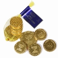 Milk Chocolate Gold Coin Bag