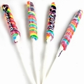 1 oz Rainbow Unicorn Pops - 10 Inches - 6CT