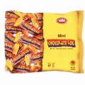 Passover Elite Mini Chocolate Logs (Mekupelet) - 15CT Bag