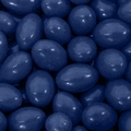 Dark Blue Chocolate Jordan Almonds