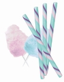 Cotton Candy Candy Sticks