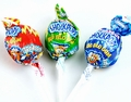 Shock Pops Big Blow Bubble Gum Lollipops