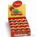Milk Chocolate Lady Bugs - 60CT Box