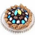 Hanukkah Chocolate Glass Charger Gift