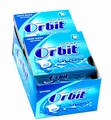 Orbit Aqua Peppermint Gum Pellets - 10CT Box