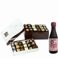 Purim Oh! Nuts Chocolate Truffle Gift Box - 36 Pc.