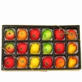 18-Piece Marzipan Fruit Gift Box