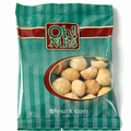 Roasted Salted Macadamia Nuts Snack Packs - 12CT Box