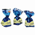 Gala Blue Foiled Crispy Rice Milk Chocolate Truffles