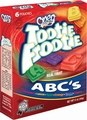 Tootie Frootie ABC Jelly Packs  - 6PK