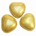 Gold Metallic Amorini Hearts