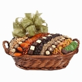 Jumbo Israeli Chocolate, Dried Fruit & Nut Basket